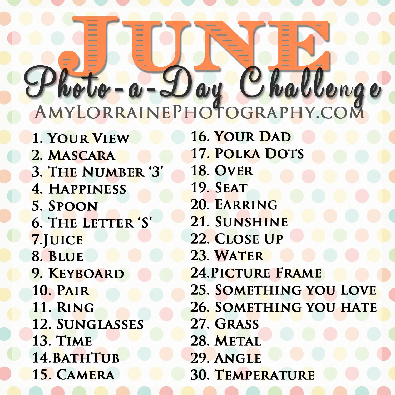 june photoaday challenge amy lorraine photography