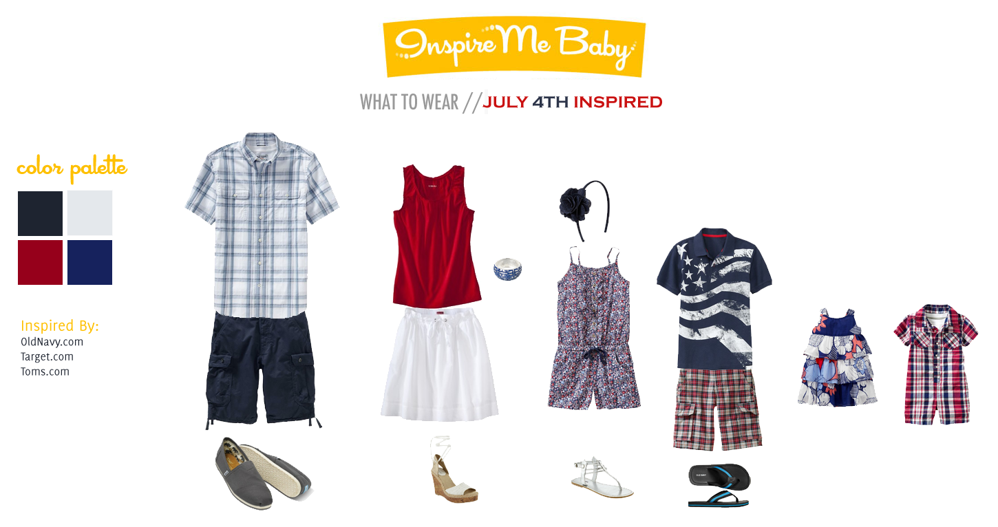What To Wear | Fourth of July Inspired