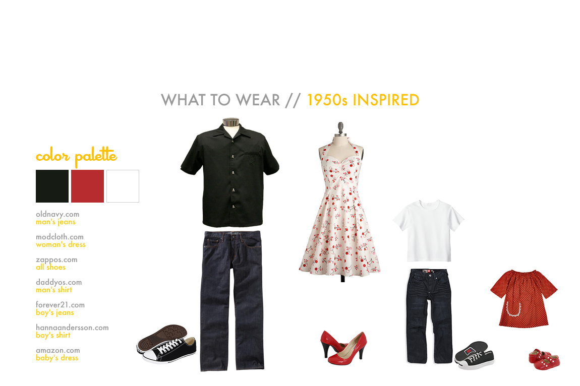 What To Wear | 1950's Inspired
