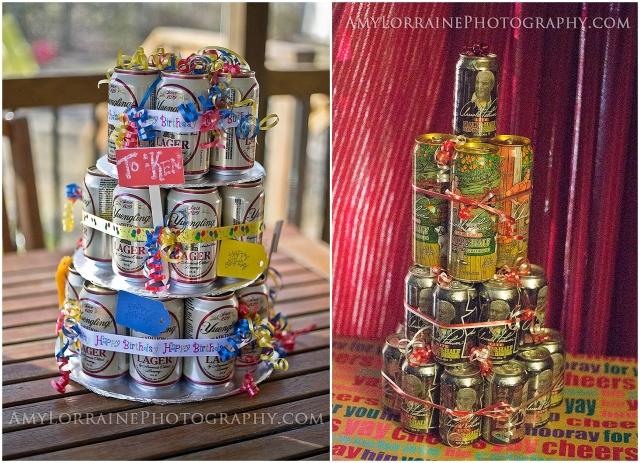DIY Beer Cake | AmyLorrainePhotography.com
