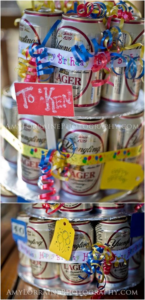 DIY Beer Cake | AmyLorrainePhotography.com