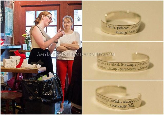 Love is patient bracelet | amylorrainephotography.com