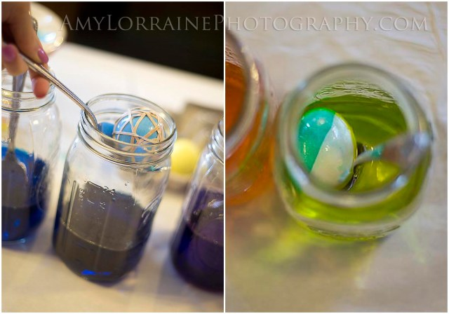Dying Eggs for Easter | AmyLorrainePhotography.com