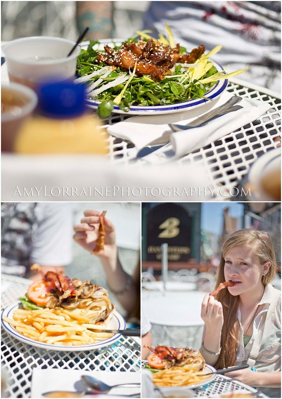 Lunch at The Black Pearl | www.amylorrainephotography.com