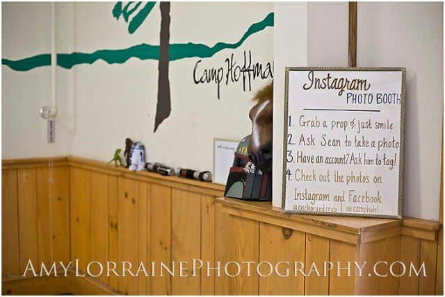Instagram Photobooth #CampHohl | www.amylorrainephotography.com