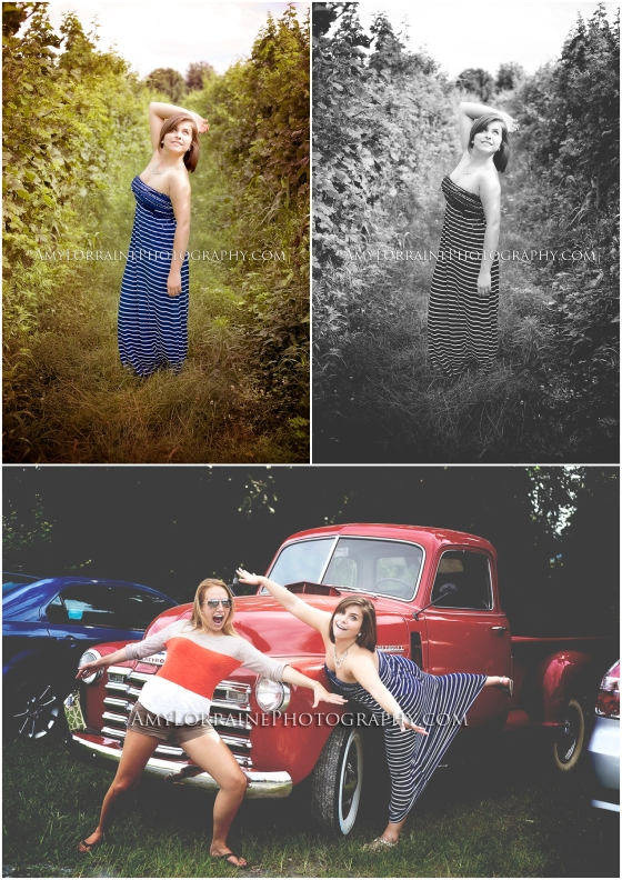Different Editing Styles | www.amylorrainephotography.com