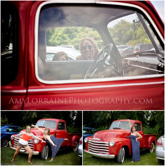 Such a cool old car! | www.amylorrainephotography.com
