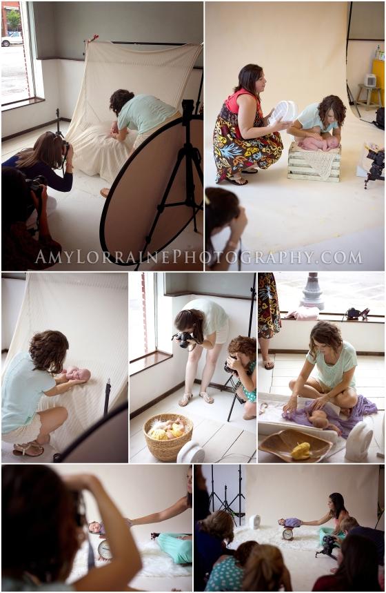 Advance Workshop | Newborns | www.AmyLorrainePhotography.com