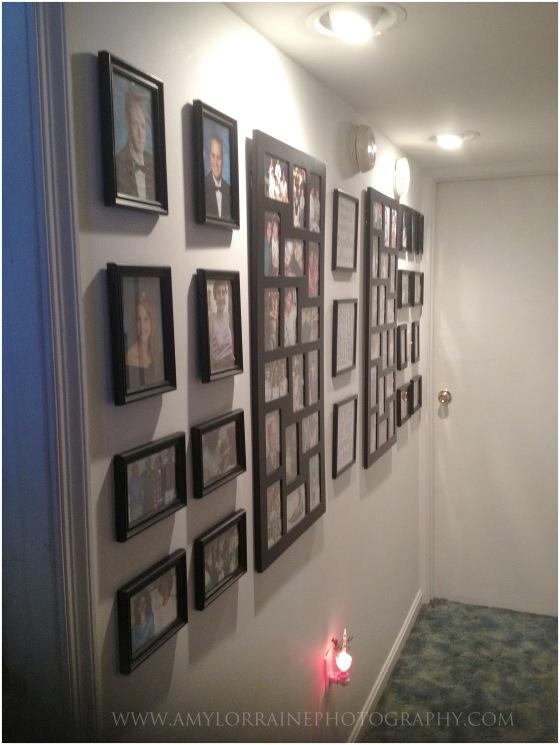 Hallway Make Over   www.amylorraineblog.com