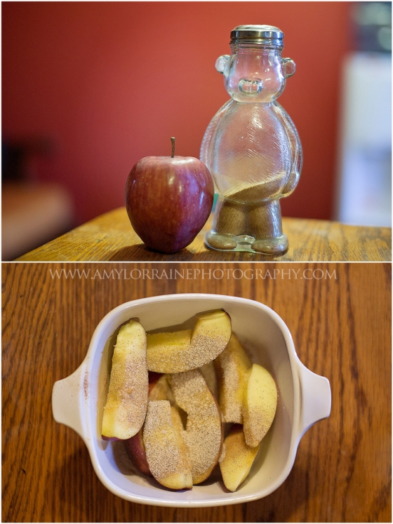 Simple Baked Apple Recipe | www.amylorraineblog.com