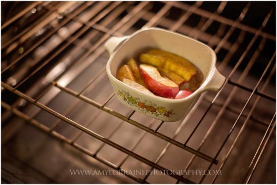 Simple Baked Apple Recipe | www.amylorraineblog.com