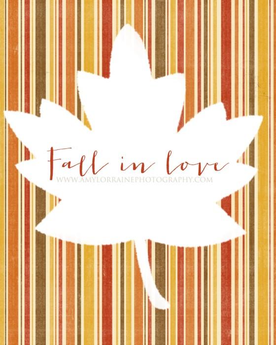 Fall In Love Free Download Print | www.amylorraineblog.com