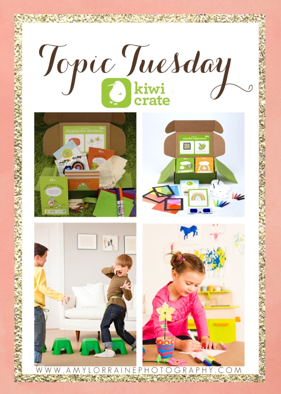 Topic Tuesday | Kiwi Crate | www.amylorraineblog.com