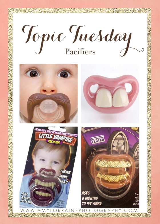 Topic Tuesday | Pacifiers | www.amylorraineblog.com